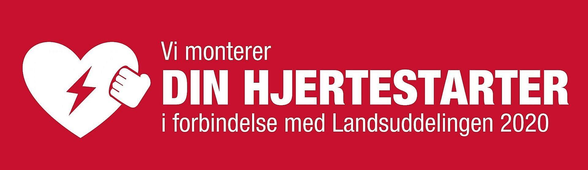 Montering af hjertestarter i Danmark